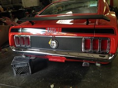 """1970 Ford Mustang Mach 1 • <a style=""""font-size:0.8em;"""" href=""""http://www.flickr.com/photos/85572005@N00/20356937779/"""" target=""""_blank"""">View on Flickr</a>"""