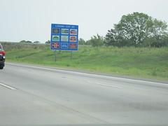 150829-2113 Charlotte (WashuOtaku) Tags: charlotte lodging northcarolina logos i85 bluesign canonpowershots90 jeffgordonexpressway