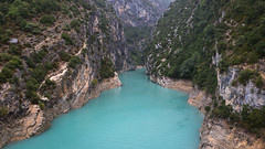 Grand canyon du Verdon. Provence, France (Oleg.A) Tags: france provence aiguines provencealpescôtedazur lacdesaintecroix lakeofsaintecroix