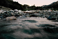 Creek (uberblake) Tags: camera sunset 2 home nature water rock creek forest fun golden cool rocks stream long exposure with falls hour winner second radical hip timer placed i vsco