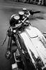 Shine (Georgie_grrl) Tags: toronto ontario honda reflections fun shiny tank ride motorcycles social pentaxk1000 reflective scooters riders whome radd blackandwhitefilm ossingtonavenue ilfordxp2400asa rikenon12828mm coolbikesofallsorts modsandrockers2015 appealstomyinnerraven