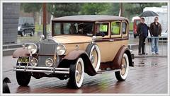 Packard  726 Straight Eight Sedan / 1930 (Ruud Onos) Tags: sedan straight eight packard 1930 726 oldtimerdaglelystad nationaleoldtimerdaglelystad ruudonos photographerruudonos gxa591 packard726straighteightsedan packard726straighteightsedan1930 packard726 oldtimerdaglelystad2015