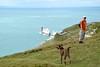 Aug2015-060 (Sandy & Alan) Tags: isleofwight totlandbay theneedlesheadland aug2015 tennysonandwesthighdown