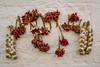 DSC_0180 (Riccardoangla) Tags: old sunset red italy food hot tourism wall architecture landscape chili italia unesco peppers onion trulli peperoncini puglia architettura trullo cipolla alberobello apulia valleditria