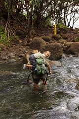 IMG_4582 copy (o.raevskaya) Tags: river hawaii crossing bushwalking kauai kalalautrail hanakapiaifalls