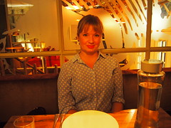 Anette at Fishmarket.