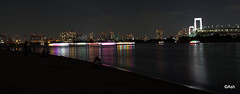 1-DSC_2566-001 (ashwintopkar) Tags: nightphotography odaiba seashore rainbowbridge yakatabune