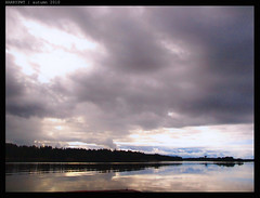 autumn sky ...... (harrypwt) Tags: sky cloud reflection helsinki coastal munkkiniemi 1454 e520 harrypwt