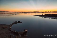 Delta del Ebro (Ramn Casad) Tags: sunset espaa sol rio del de spain rojo delta catalonia salida ebro barcas catalua redes taragona pantalan elfangar