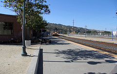 2015_10_16 Martinez Amtrak_02 (Walt Barnes) Tags: railroad station train canon eos scenery tracks engine rail streetscene scene calif amtrak transportation locomotive martinez trackside dieselelectric 60d canoneos60d eos60d wdbones99
