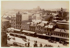 Sydney from St. Andrews Cathedral [looking east], 1900-1910 / by Star Photo Co. (State Library of New South Wales collection) Tags: statelibraryofnewsouthwales
