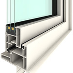 高断熱樹脂窓の写真