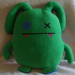 Uglydoll Rare Prototype OX Two Sided David Horvath (jcwage) Tags: giantrobot handmade oneofakind ox prototype target uglydoll rare uglydolls icebat babo jeero uglydog horvath wedgehead gr2 davidhorvath sunminkim sunmin uglycon uglyworm toodee