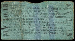 Emily Wilding Davison's insurance ticket1913-06-04