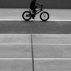 Along the lines (zackhedelic) Tags: street blackandwhite monochrome lines silhouette square singapore streetphotography minimal fujifilm konica 40mm lightandshadow graphical blackandwhitephotography lessismore hexanon xe2 streetphotobw