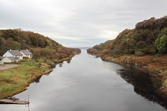 Isle of Seil mainland channel Scotland (Dave Russell (700k views)) Tags: island scotland crossing straight isle channel mainland seil
