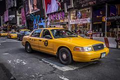 Yellow cab (Muriel_Photo) Tags: new york nyc usa yellow cab taxi