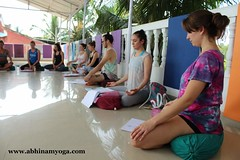 Yoga In Patnem Oct 15 (5) (estherwindram) Tags: school india yoga training ttc goa course classes