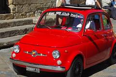 Fiat 500 - Volterra (vince_68) Tags: florence italia volterra tuscany firenze toscana toscane italie toskana