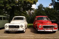 1965 Volvo PV 544 C & 1964 Volvo PV 544 (NielsdeWit) Tags: volvo beurs pv544 klassieker autotron rosmalen nielsdewit ge5968 dz0228