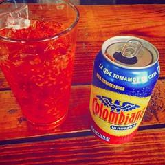 Colombiana (edgarzunigajr) Tags: city beach america restaurant colombia soft colombian florida drink miami south magic coke pop mia latin latino soda hispanic hispano sobe colombiano