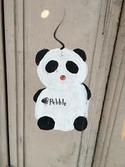 Shimokitazawa (Cle0patra) Tags: holiday japan graffiti tokyo stencil panda setagaya shimokitazawa 2015