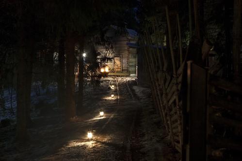 Savusaunan polulla Hirvihaaran Kartanolla