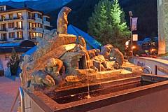 Switzerland-02100 - Prato Borni Fountain