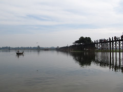 "Amarapura: U Bein's Bridge <a style=""margin-left:10px; font-size:0.8em;"" href=""http://www.flickr.com/photos/127723101@N04/23151051402/"" target=""_blank"">@flickr</a>"