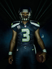Russell Wilson-Tunnel (Jeff Whitlock digital artist) Tags: seattle sports football nfl russel wilson seahawks neilkremer