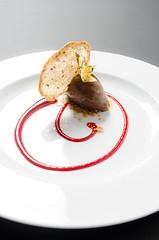 Gelato all'olio Privilegio foglia viola e cioccolato (scuolatessieri) Tags: gelato cioccolato privilegio olioextravergine lucalandi scuolatessieri fogliaviola