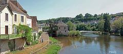 IMG_0870  0871 Argenton sur Creuse  (France) blog (kadely) Tags: panorama topf25 eos eau paysage argenton argentonsurcreuse 70d 18135mm 3000v120f canonfrance