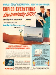 1962 Apeco Electro-Stat Copier Advertisement Time Magazine March 2 1962 (SenseiAlan) Tags: 2 magazine march time advertisement 1962 copier electrostat apeco