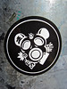 Gas Mask Mouse, San Francisco, CA (Robby Virus) Tags: sanfrancisco california sf mouse sticker slap gas mask suk 5uk cha