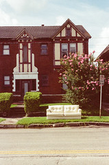 21110018 (alexdotbarber) Tags: 160 35mm kodakgold100 nikon50mmf14 nikonf slr westgray colornegative couch f16 heavytrash unmeteredprism