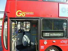 GAL VWL14 - LB02YXM - NS - BLENDON - WED 14TH SEPT 2016 (Bexleybus) Tags: go ahead goahead london blendon volvo wrightbus gemini eclipse etb vwl14 lb02yxm tfl route