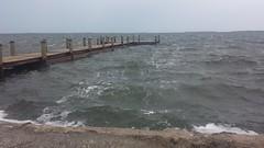 20161006_161512 (rolyrol1982) Tags: gulf mexico hurricane matthew 2016 florida keys key largo waves bad weather pier dock
