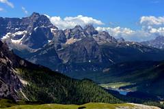 View from the top (annalisabianchetti) Tags: mountains montagne dolomites dolomiti veneto misurina sorapiss alps view paesaggio landscapes