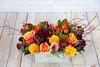 IMG_4906-2 (Garden Party Flowers) Tags: autumnarrangement autumnthemearrangement callalily dahlia florist flowers longandlowarrangement modern rose rosehips vancouver vancouverflorist