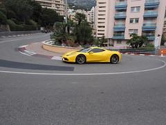 Ferrari on Fairmont Hairpin (boncey) Tags: olympusomdem1 olympus omd em1 camera:model=olympusomdem1 1240mm lens:make=olympus lens:model=olympus1240f2828 olympus1240f2828 lenstagged photodb:id=24478 monaco ferrarionfairmonthairpin f1 car