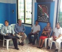 Reunión de trabajo para darle seguimiento al tema de la familia Cruz Méndez de la comunidad de Santiago Progreso, #ValleNacional, participan autoridades municipales e instancias de seguridad y procuración de justicia #Oaxaca (2)