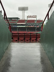 A rainy Fenway Park. Shot on an iPhone 7. (apardavila) Tags: postseason ballpark baseball fenwaypark iphone7 majorleaguebaseball mlb rain sports stadium