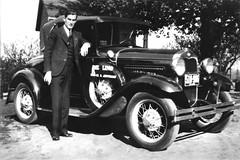 Walter Swacker (dungan.robert) Tags: blackandwhite film bw classiccar missouri car print legacyproecoprobwpaperdev 6x9 swackerwalter