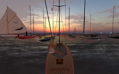 FJ2016 @ NYC - such a nice fleet! (vivipezz) Tags: secondlife sailing sl nyc nantucket shields q2m bandit if
