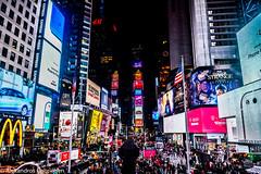 New York City @ Times Square (Alexandros Gabrielsen) Tags: new york usa nyc ny d7100 nikon nikor times square city cityscape cityscapes architecture outdoor us skyscrapper