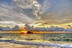 Fire in the Horizon (YIM Hafiz) Tags: sunset goldenhour srilanka beach horizon