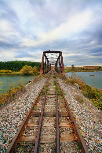 Railroad Bridge Perspective