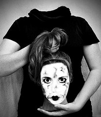 I'm a B̶a̶r̶b̶i̶e̶ ̶g̶i̶r̶l̶,̶ ̶i̶n̶ ̶a̶ ̶B̶a̶r̶b̶i̶e̶ ̶w̶o̶r̶l̶d̶ ̶psycho girl, in a psycho world, Life in plastic, it's fantastic... (Manhattan Girl) Tags: shellykayphotography bwphotography halloween happyhalloween october2016 ivelostmymind offwithherhead monoart