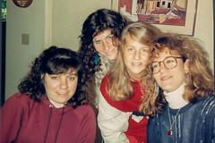 Thanksgiving-6-3 (bencarob) Tags: 1987 debbi deborahrobinson extended family people stephanie stephaniegoldstine thanksgiving
