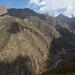 Estradas serpenteiam pelas montanhas